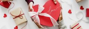 ribbon. heart